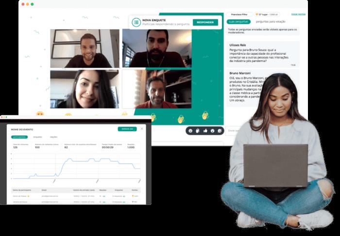 Plataforma para eventos online
